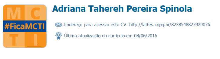 Adriana Tahereh Pereira Spinola
