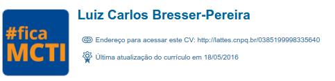 Bresser-Pereira