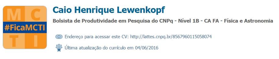 Caio Henrique Lewenkopf