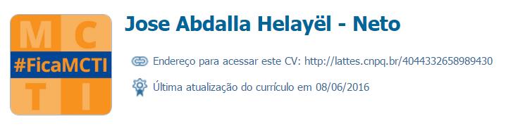 Jose Abdalla Helayël - Neto