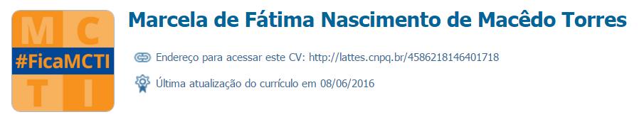 Marcela de Fátima Nascimento de Macêdo Torres