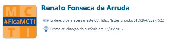 Renato Fonseca de Arruda